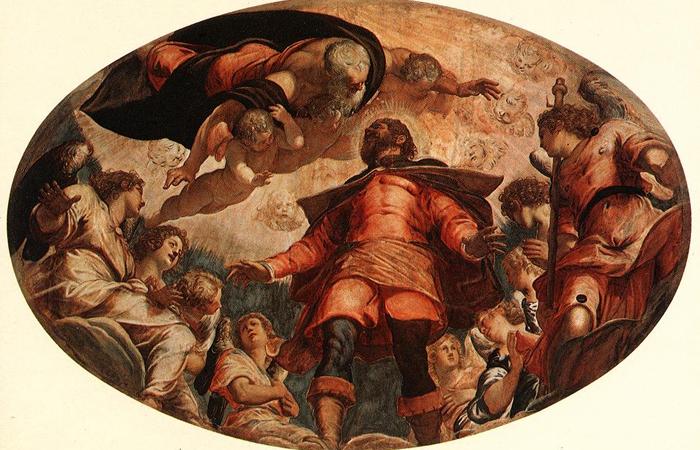 Св. Рох во славе