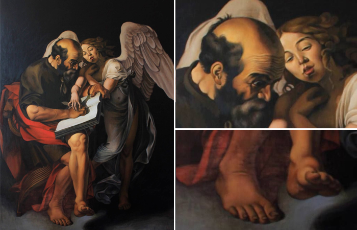 Святой Матфей и ангел (первый вариант)