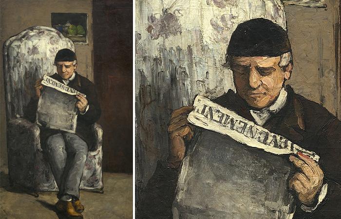 Отец художника, 1866, Национальная галерея искусств, Вашингтон, D.C.