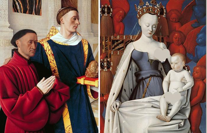 Жан Фуке «Меленский диптих» Ок. 1450