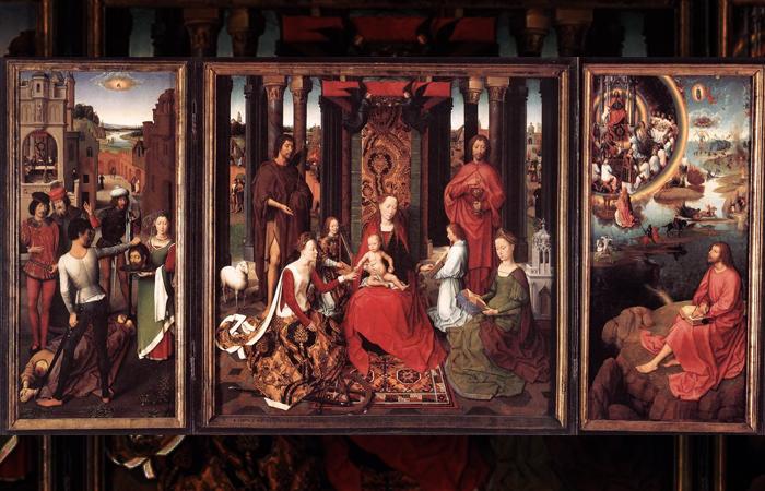 Алтарь Святого Иоанна, 1474