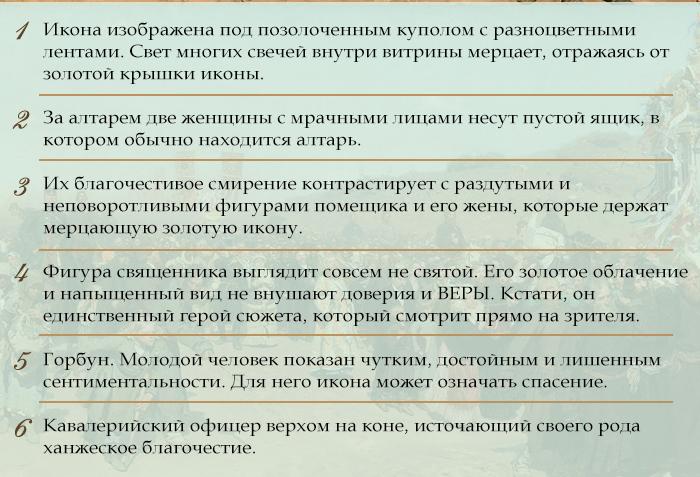 Инфографика: герои картины Репина (2)