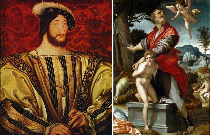 Франциск I и «Жертвоприношение Авраама»
