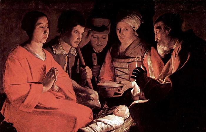 Жорж де Латур «Поклонение пастухов». Ок. 1644. Лувр, Париж / Фото: geo.fr