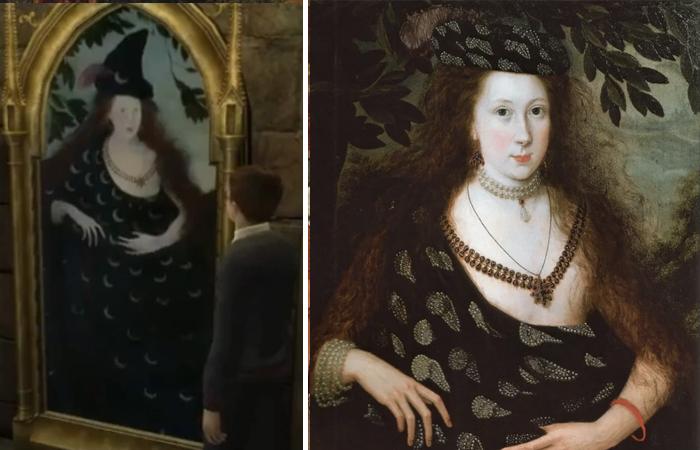 Портрет леди Элизабет Поуп, ок. 1615 года.