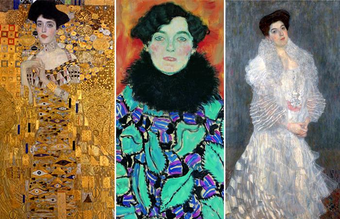 Женские портреты Климта