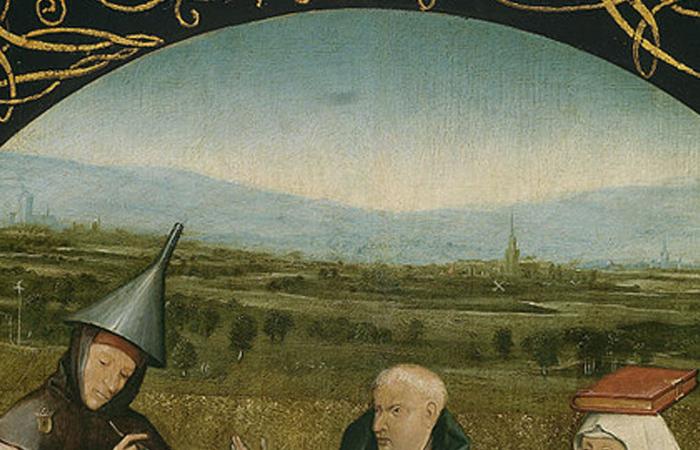 «Извлечение камня глупости»: фрагмент пейзажа