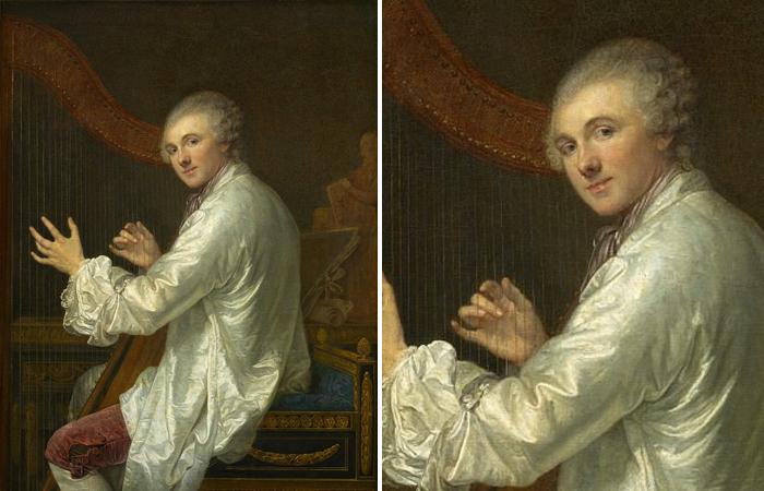 Грёз Жан-Батист «Портрет Анж Лоран де Ла Лив де Жюли» (1759 г.)