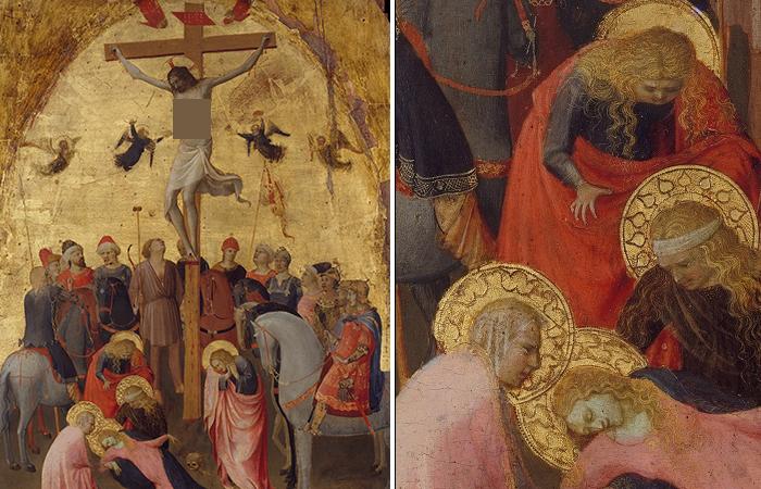 «Распятие» ок. 1420, Фра Анджелико