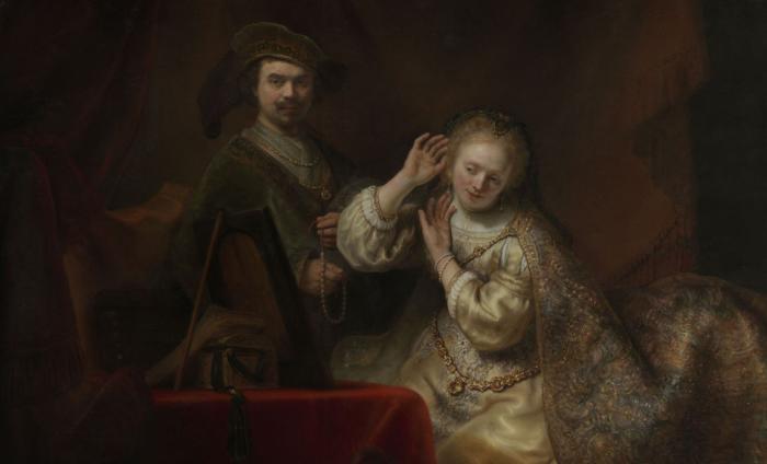 Фердинанд Балтасарс Боль - Рембрандт и его жена Саския