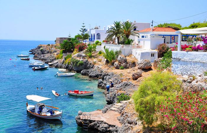 Описанный остров Кифера (сегодня - Китира)