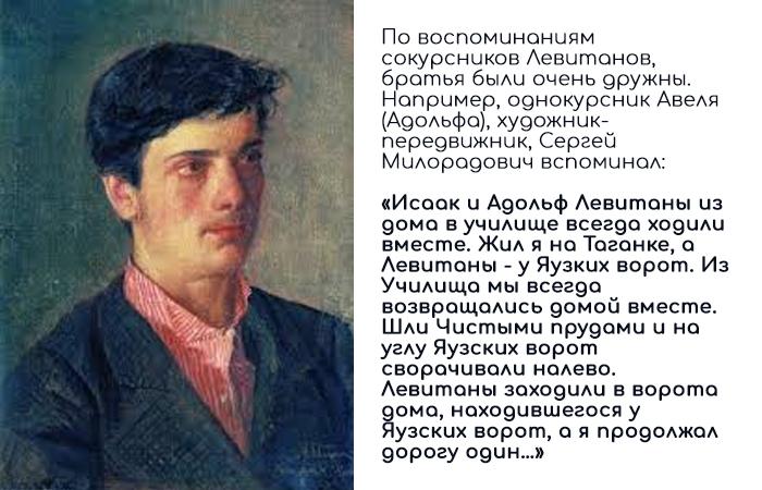 Брат Исаака Левитана