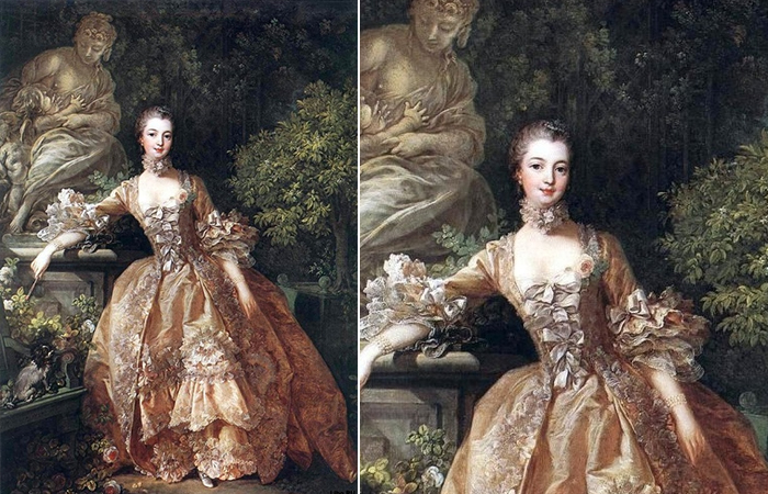 Франсуа Буше «Портрет мадам де Помпадур», 1759