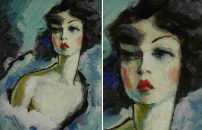 Констан Детре «Портрет Кики де Монпарнас», ок. 1920-1925