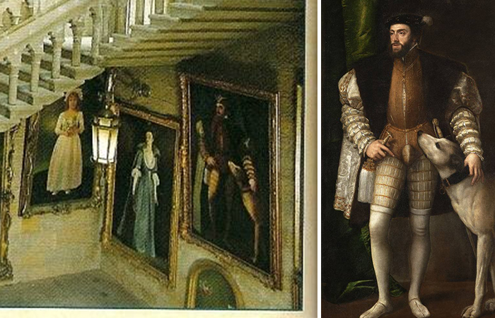 «Портрет Карла V с собакой» Тициана
