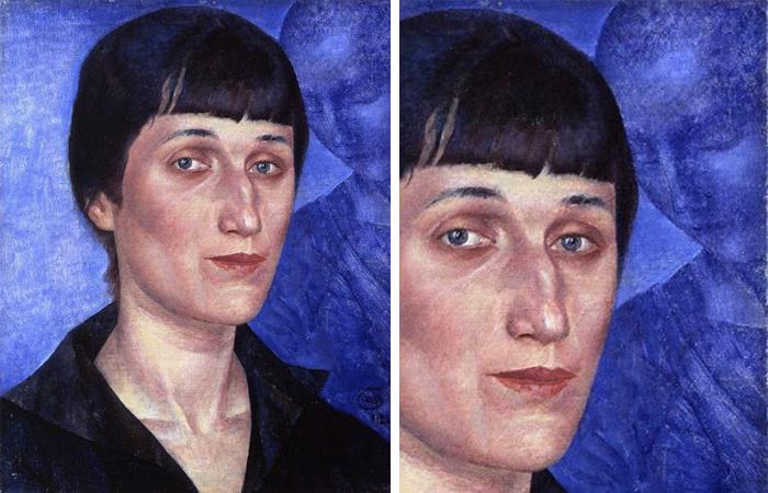 Портрет Ахматовой (Петров-Водкин)