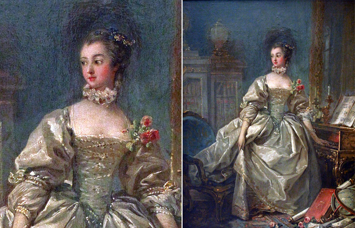 Франсуа Буше. «Портрет мадам де Помпадур», ок. 1750