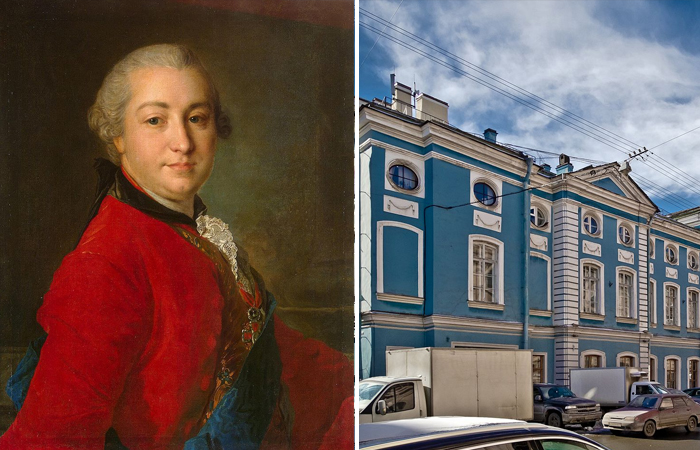 Шувалов и Дворец Шувалова в Петербурге