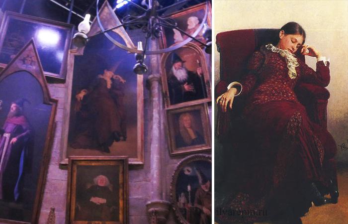«Отдых. Портрет В. А. Репиной, жены художника»