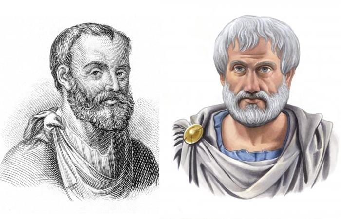 Гален и Аристотель