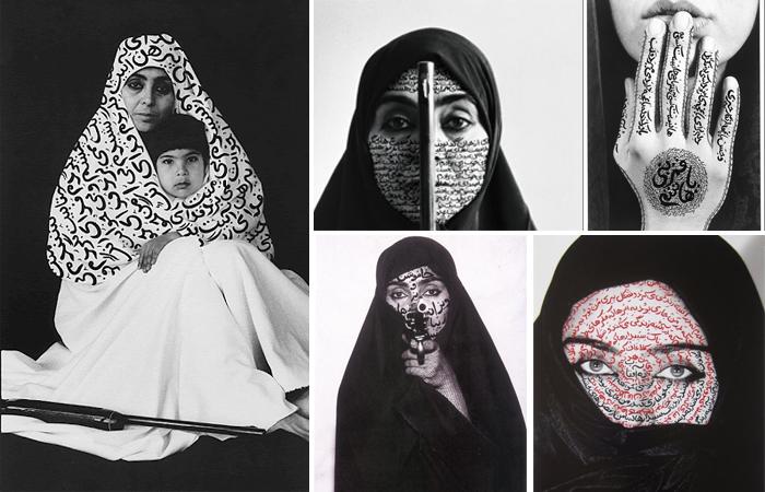 Серия фотографий Ширин Нешат «Женщины Аллаха» (Women of Allah) (1993—1997)