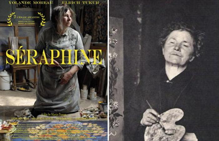 Афиша и фото художницы Серафина де Санлис