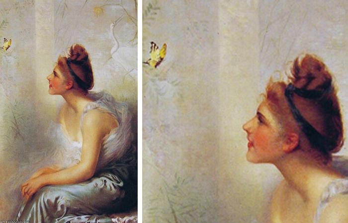 """Красота и бабочка"""