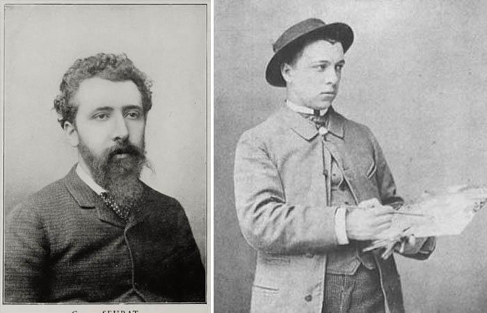 Жорж Сера и Пол Синьяк