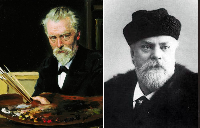 Владимир и Константин Маковские