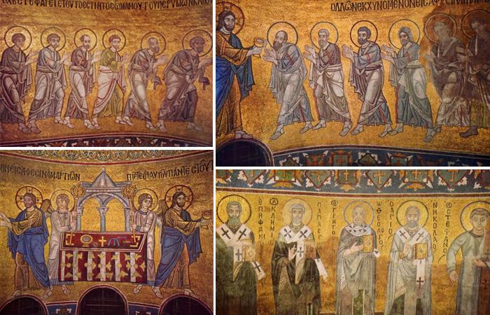 Апостолы и Отцы церкви