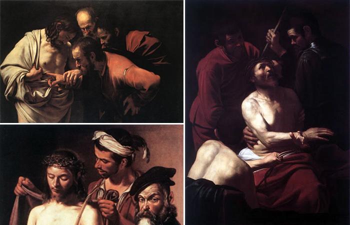 Иисус в работах Караваджо