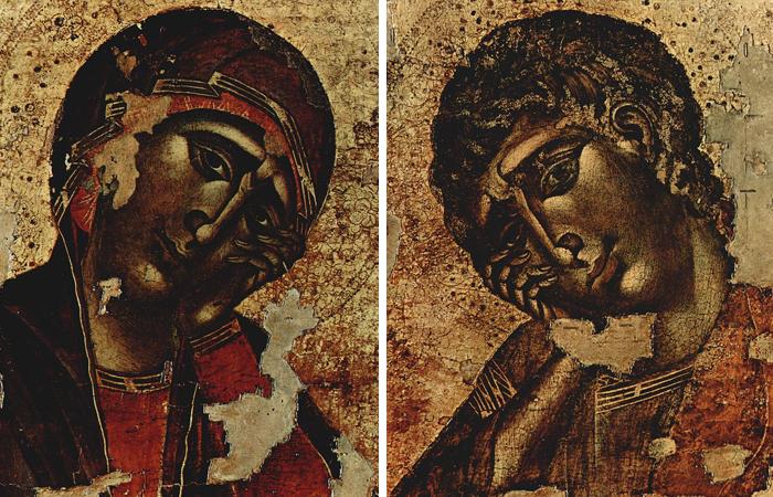 Дева Мария и Иоанн Евангелист