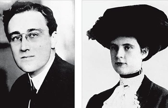 Рузвельт и Люси Мерсер-Резерфорд