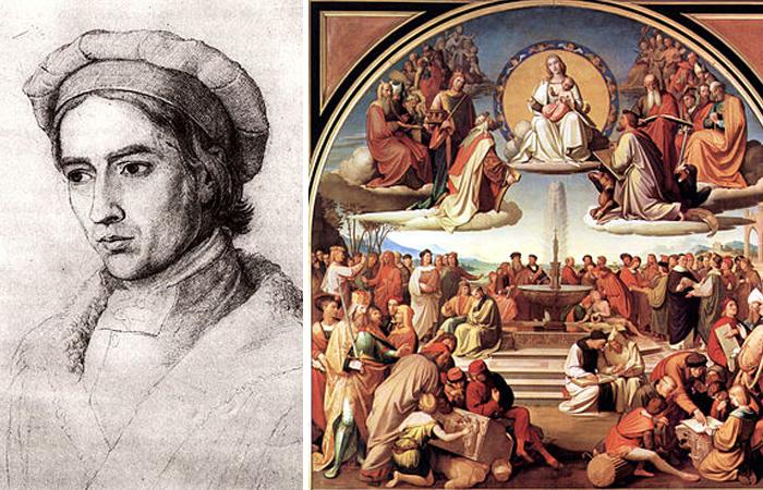 Фридрих Овербек. «Триумф религии в искусствах»