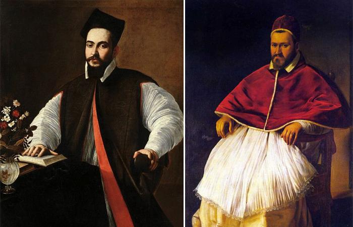 Портрет папы Урбана VIII /  Портрета Папы Паоло V