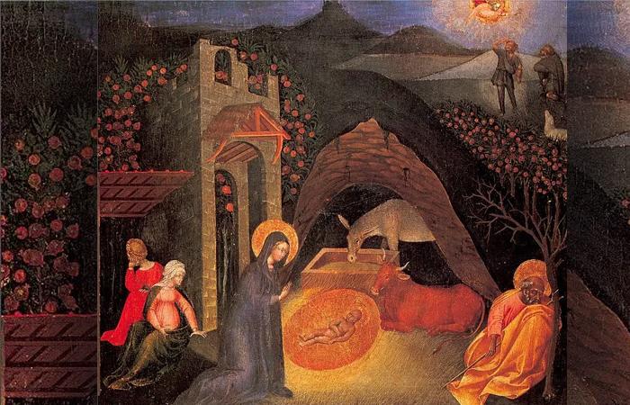 Джованни ди Паоло «Рождество Христово» / Фото: gallerix.ru