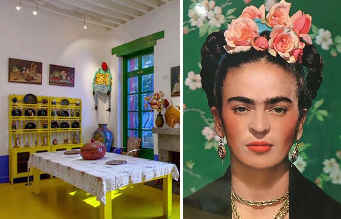 «Голубой дом» Фриды Кало и ее фотография