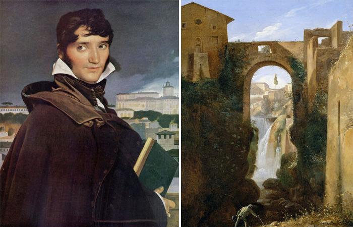"""Франсуа Мариус Гране """"Понте Сан-Рокко и водопады"""""""