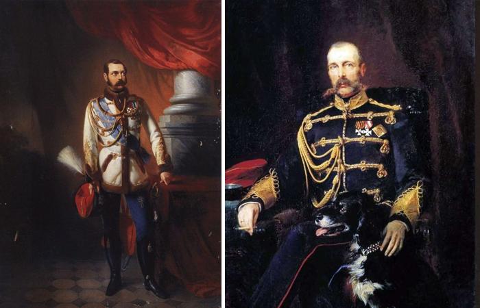Портреты Александра II кисти Маковского