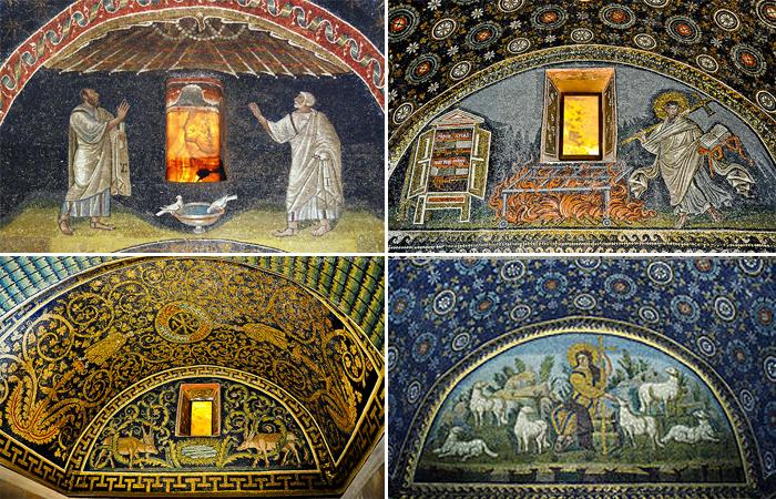Мозайки Мавзолея