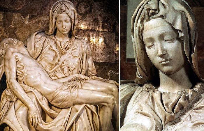 «Пьета» Микеланджело 1499 г.