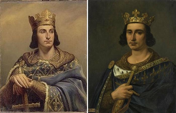 Портреты Людовика IX
