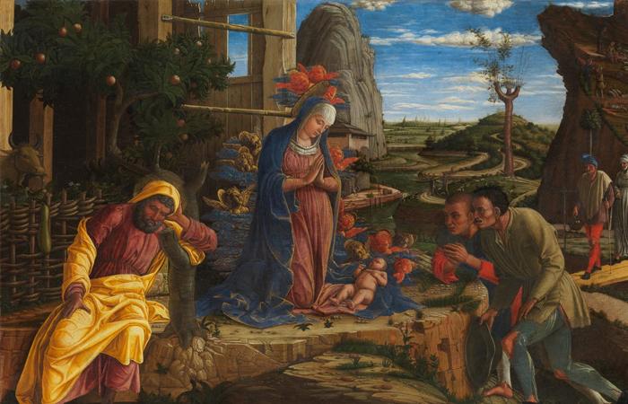 Андреа Мантенья «Поклонение пастухов» (после 1450 года), Метрополитен-музей / Фото: arzamas.academy
