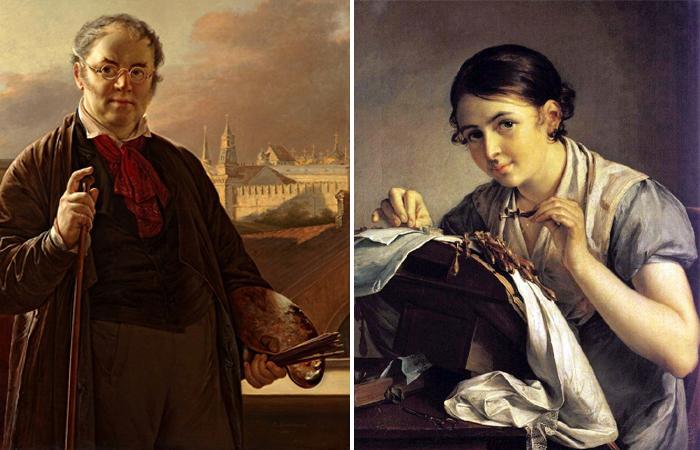 Василий Тропинин и его картина