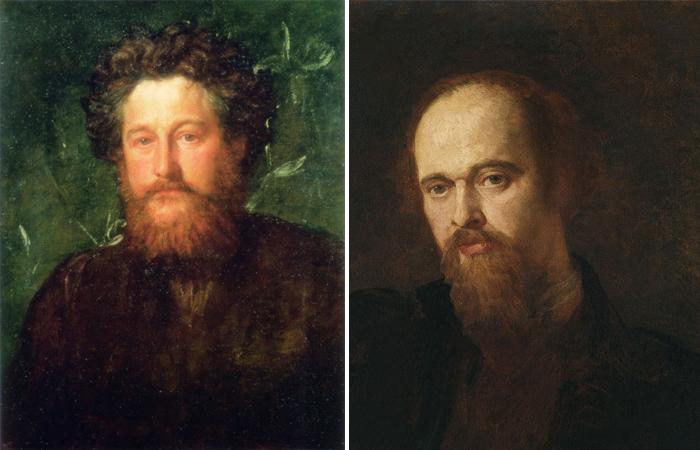 Уильям Моррис и Габриель Россетти