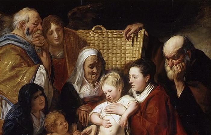 Инфографика: «Святое семейство» (1617-1618), Якоб Йорданс
