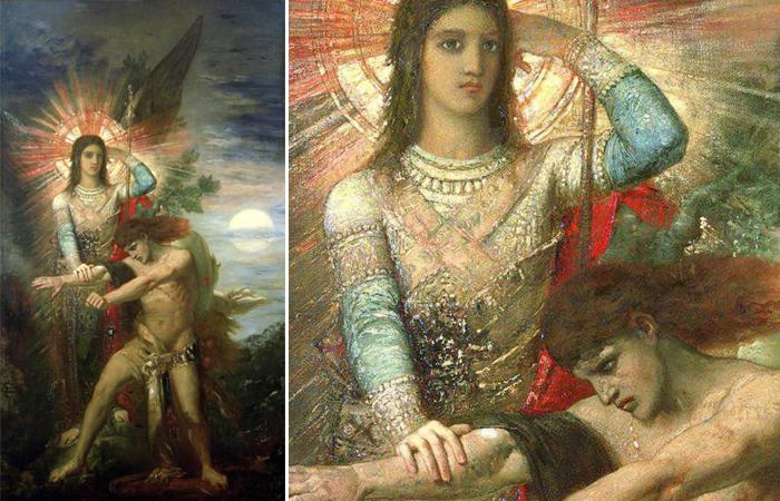 Ангел и Иаков