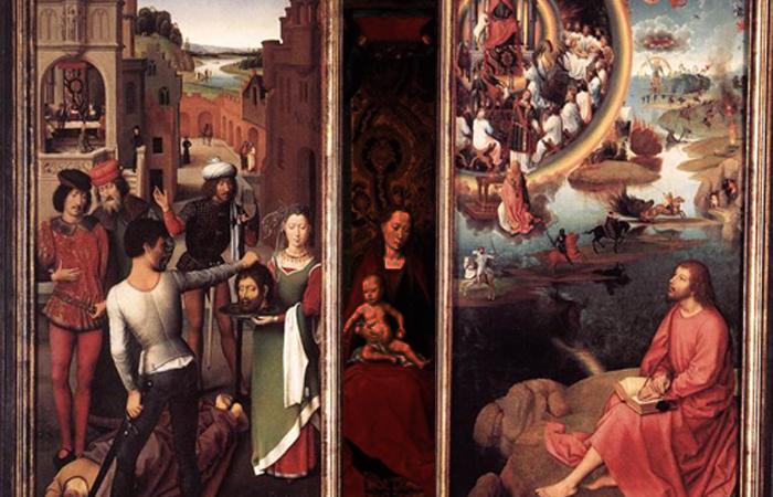 Алтарь Святого Иоанна, 1474 (боковые панели)