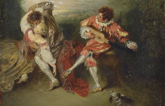 «Сюрприз» Жана-Антуана Ватто (1718) / Фото: christies.com