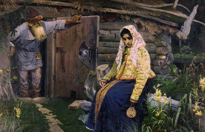 Картина Нестерова «За приворотным зельем» / Фото: arthive.com
